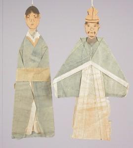 七夕人形「紙雛形式」