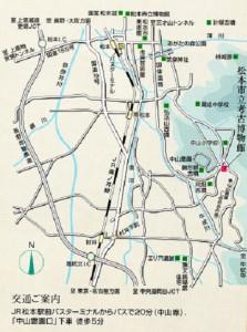 考古博物館までの地図