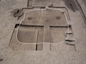 横田遺跡 平安時代の竪穴住居跡