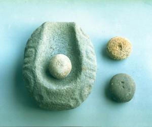 石皿とすり石