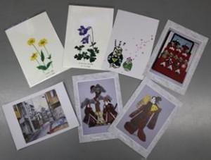 様々なポストカード