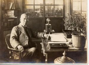 初代松本市長 小里頼永の肖像写真