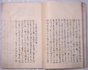 菅江真澄自筆本『ひなの一ふし』