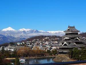 松本を知るために松本城も雄大な山々も欠かせない ポイントです