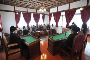 明治憲法下の裁判を体験