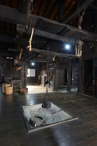工女宿宝来屋の内部