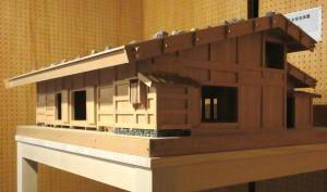 工女宿宝来屋(歴史の里 の模型