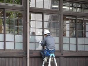 窓ガラスの交換