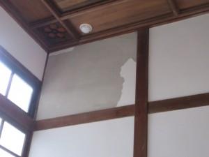 壁の塗り直し