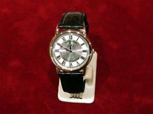 オリジナル腕時計(型押し・シルバー)