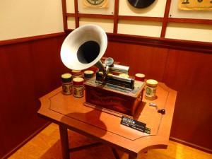 蝋管式蓄音機