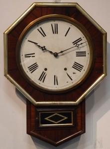 八角掛時計 (アメリカ・ニューヘブン社製)