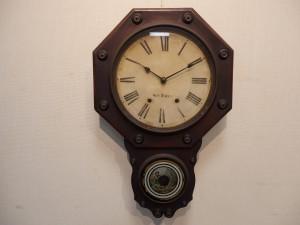 八角掛時計