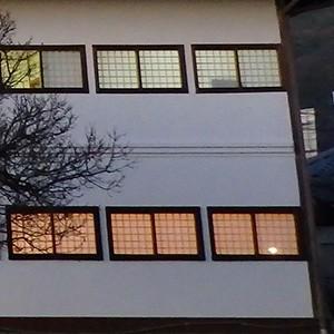 障子の引違い窓