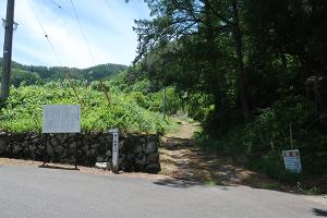 林小城入り口