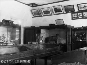 松本紀念館内山岳室